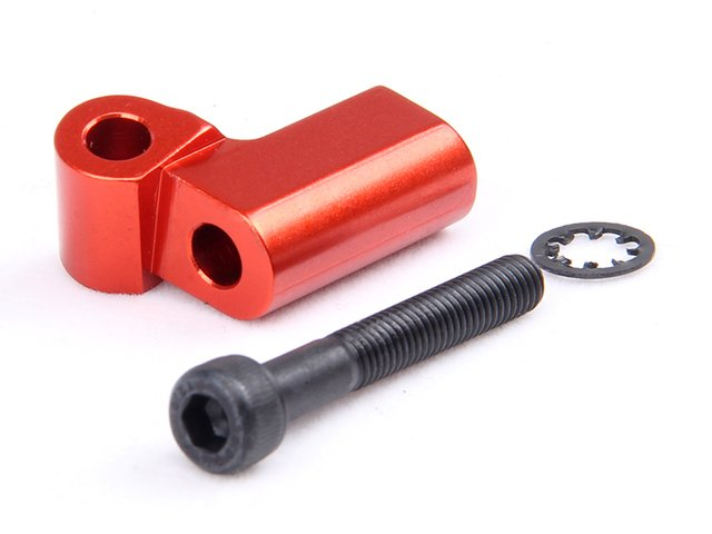 Baja CNC connection engine fixed block engine mount for 1/5 scale hpi KM RV baja 5b