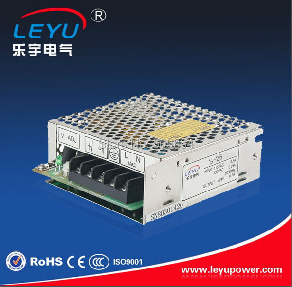 CE RoHS ISO9001 25W 12V Single Output Switching Power Supply  S-25-12