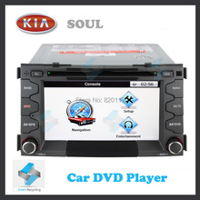 Car DVD KIA SOUL TV GPS Radio touch screen stable quality HD LCD monitor with iPod function