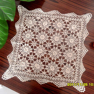 free shipping cotton crochet lace towel for sofa decor armest cover as home decor cabinet towel cushion cover