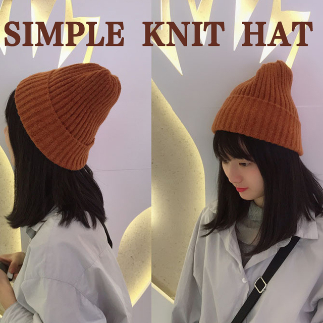 SOLEDI Knit Cap Playing Wool Casual Sports Knitted Hat Hiking Outdoors Boys Winter