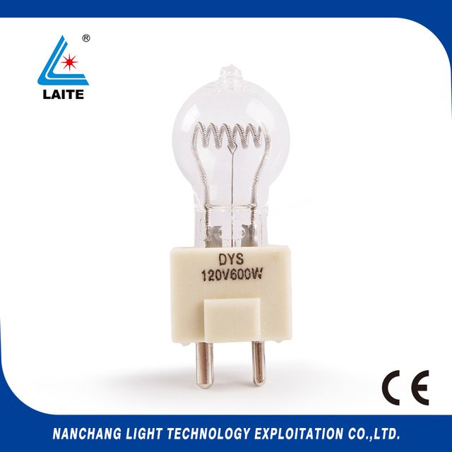 120V 600W GY9.5 DYS projection lamp 120v600w projector halogen lamp bulb free shipping-10pcs