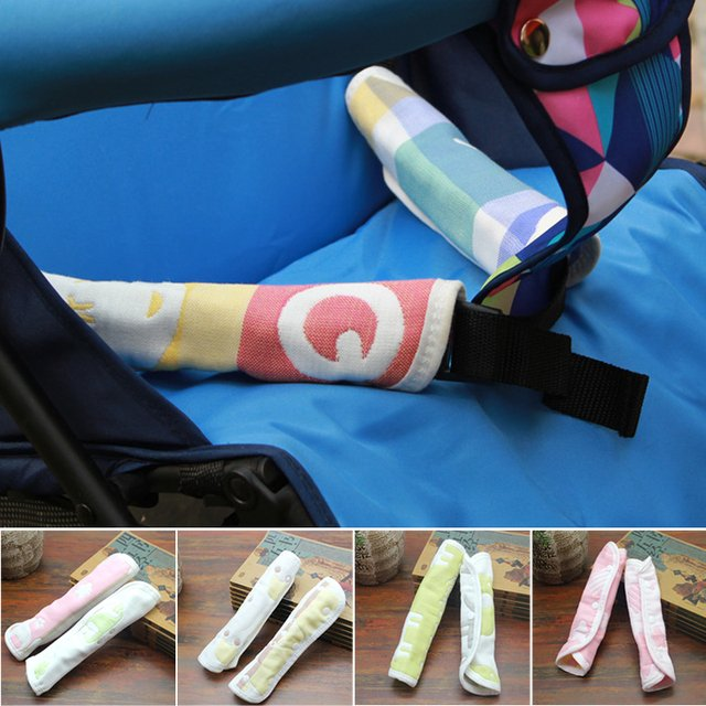 Stroller Armrest Towel Baby Safety Baby Stroller Towel Accessories Safety Belt Strollers  Accessories Towels Baby Stroller Bib