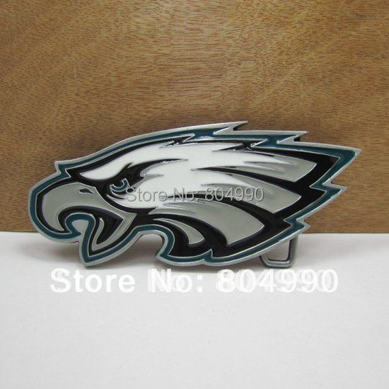 Fashion eagle head belt buckle with pewter finish FP-02796 Wholesale brand new belt buckle with continous stock