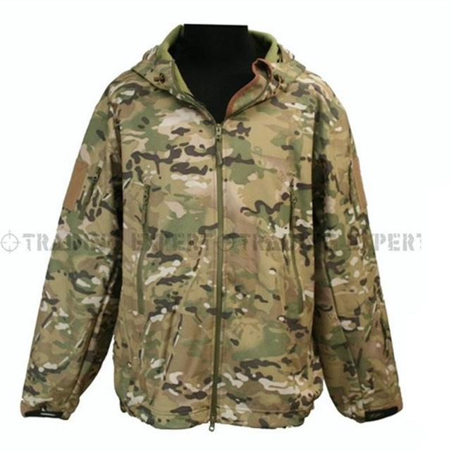 TAD jacket men Waterproof Zipper Windbreaker (Multicam  TAN GRAY BK ACU OD) CL-05 winter jacket