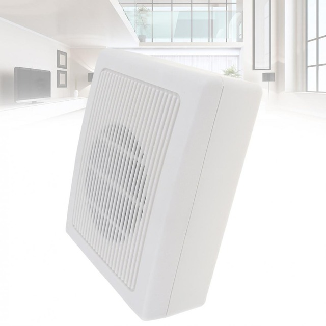 ATC-831 6.5Inch 6W Fashion Wall-mounted Ceiling Speaker Public Broadcast Speaker for Park / School / Shopping Mall / Railway