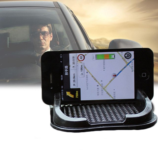 New Black Car Dashboard Sticky Pad Non-Slip Gadget Holder Accessories for Phone