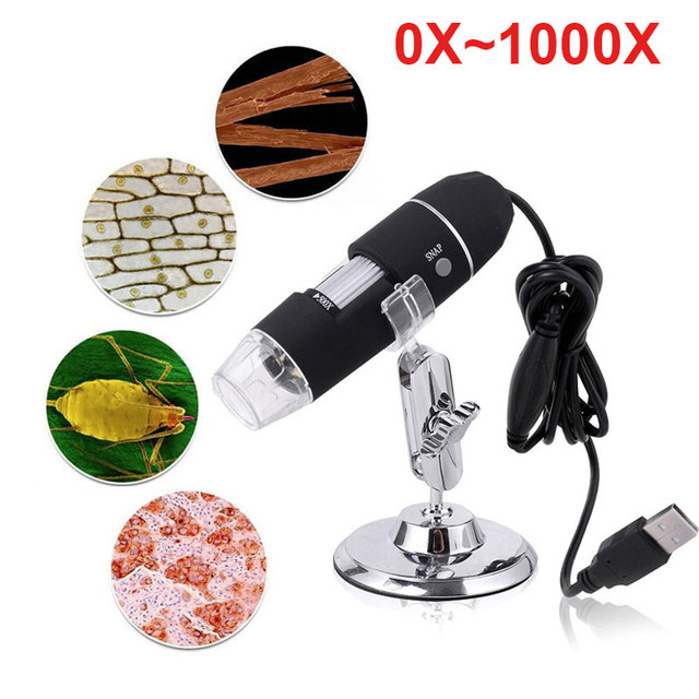 1000X Hand Held Endoscope Durable Real-Time Video Digital Microscope Photos Inspection Endoscope
