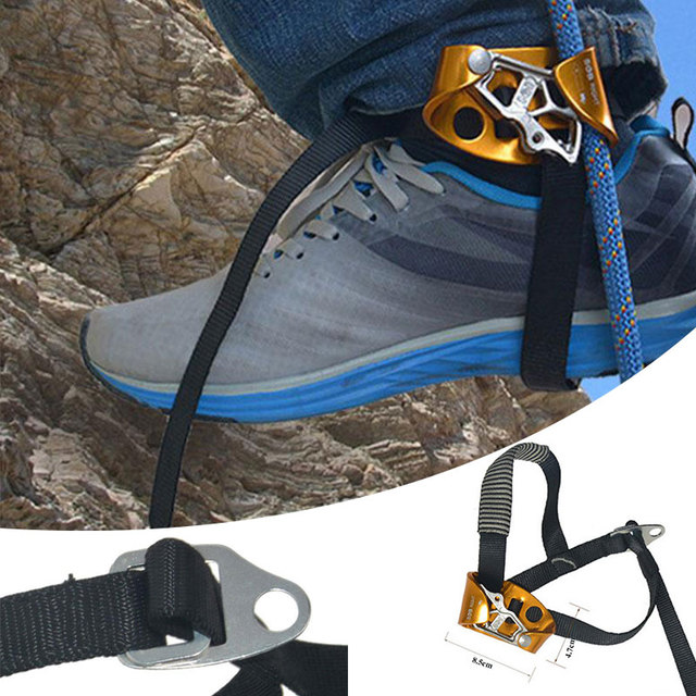 Climbing Right Foot Ascender Rock Mountaineering Device Tool Protector Accessory