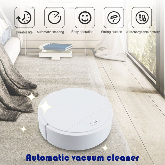 2019 Drop Shpping No Battery Auto Cleaning Robot Smart Vacuum Cleaner Convenient Dust Auto Sweeping Robot for Robot