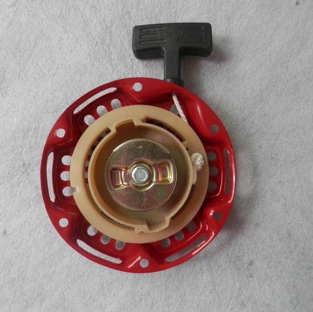 152F RECOIL STARTER ASSY OD. 149MM 6 HOLES VERTICAL 154F 4 STROKE ENGINE PULL START REWIND ROPE HANDLE ASSEMBLY