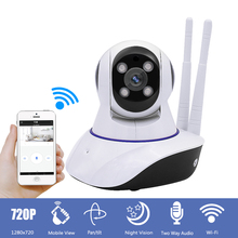 Mini 1MP 720P wifi IP Camera Surveillance CCTV Security Camera with Night Vision 2-Way Audio for Baby /Elder/ Pet/Nanny Monitor