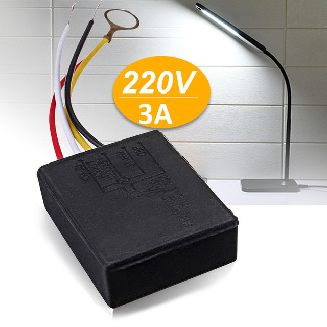 LED Dimmer Lamp  Control AC 220(V) Universal Sensor Switch Accessories LED Products Modulation Circuit Durable Adjustable