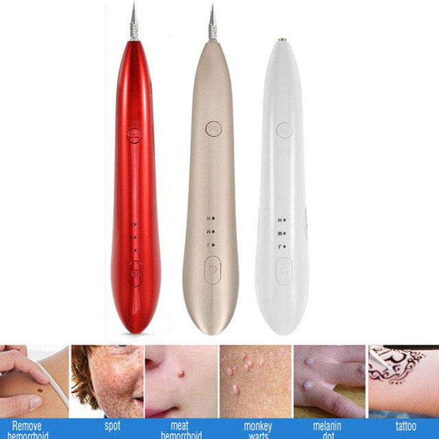 USB Tattoo Mole Removal Plasma Pen Laser Facial Freckle Dark Spot Remover Tool Wart Removal Machine Face Skin Care Beauty Device