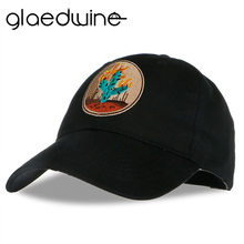 Glaedwine 2018 High quality Brand Baseball Cap cactus embroidery Casual Outdoor Sports Solid Snapback Hats Caps for Men Women