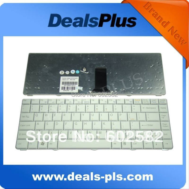 FOR Brand New Sony Vaio VGN-NR Series NR21 NR21Z Laptop US Keyboard White