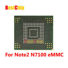 10pcs/lot Note2 N7100 NAND Flash memory KMVTU000LM-B503  KMVTU000LM eMMC