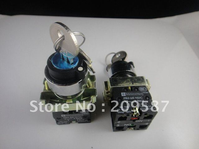 1 NO 1 NC key 2 Position Selector Switch Maintained BG25 XB2-BG25