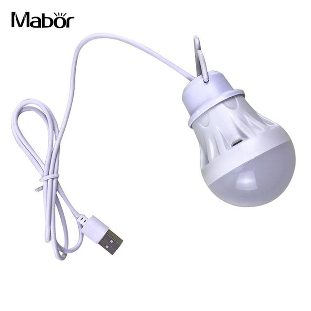 Camping Lights Portable USB Night Lamp Tent Bulb Travel Camping Bulb Super Bright 3W Emergency Light Flashlight Outdoor 6LED