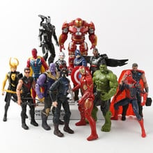 Marvel Avengers 3 infinity war Movie Anime Super Heros Captain America Ironman hulk thor Superhero Action Figure Toys
