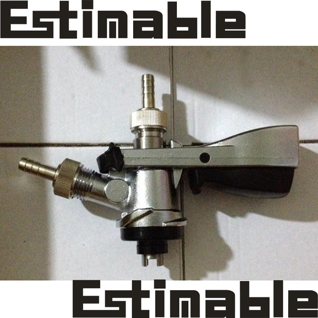 """Good quality  Homebrew,Beer Keg Tap  beer faucet System """"S"""" Coupler ,Beer Keg """"S"""" coupler,""""S"""" Keg Coupler home brew accessories"""