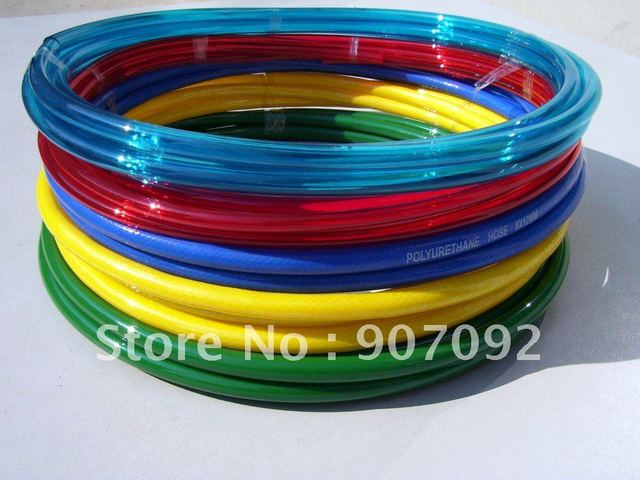 PU Tube 4mm Outside Diameter 2.5mm Inner Diameter 180M/Lot Nylon Tube Polyurethane Pneumatic Drive Tube PU4*2.5 Free Shipping