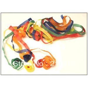 Free Shipping 12 pcs/lot Throw Streamers Color --Magic Trick, Fun Magic, Party Magic.