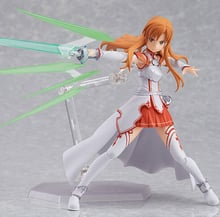 Anime sword art online Yuuki Asuna sao new PVC Action Figure Collection Model Toys Doll 15cm Free Shipping