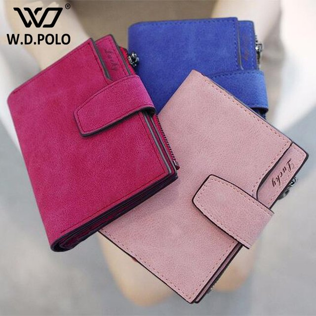 WDPOLO New design multi layer leather women folder short wallet high chic brand design lady hand bags girls money purse M2276