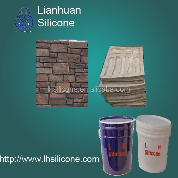 mould making liquid silicone rubber to make molds stone veneer China