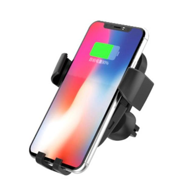 10W Fast QI Wireless Car Charger Gravity Holder For IPhone X 8 Plus Samsung Galaxy S8 S7 Note 8 Quick Charge Charging Mount