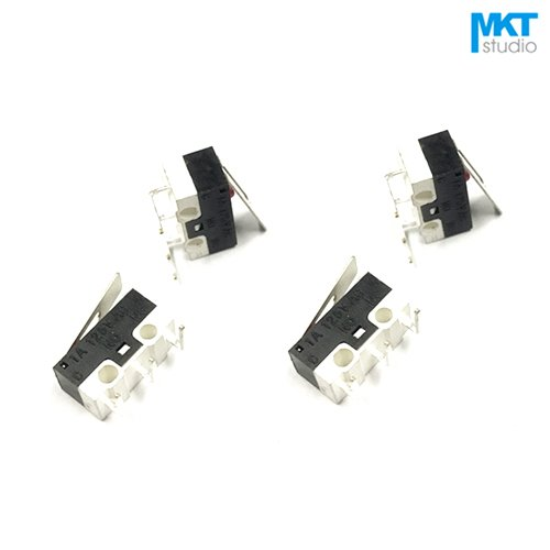 20Pcs Sample Right Angle Bend 3 Pins Micro Snap-acting Mouse Switch Microswitch With Lever Right/Left