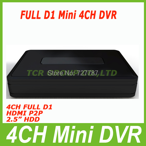 """Full D1 wifi cctv dvr 4CH H.264 Real Time Standalone CCTV Security Network DVR with HDMI cctv dvr video recorder 2.5"""" HDD"""