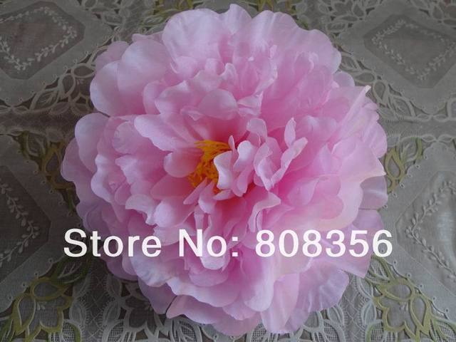 76Pcs Artificial Fabric 12 Layers 16cm Open Peony  Flower Head for Diy Jewelry Wedding Christmas U Choose Color