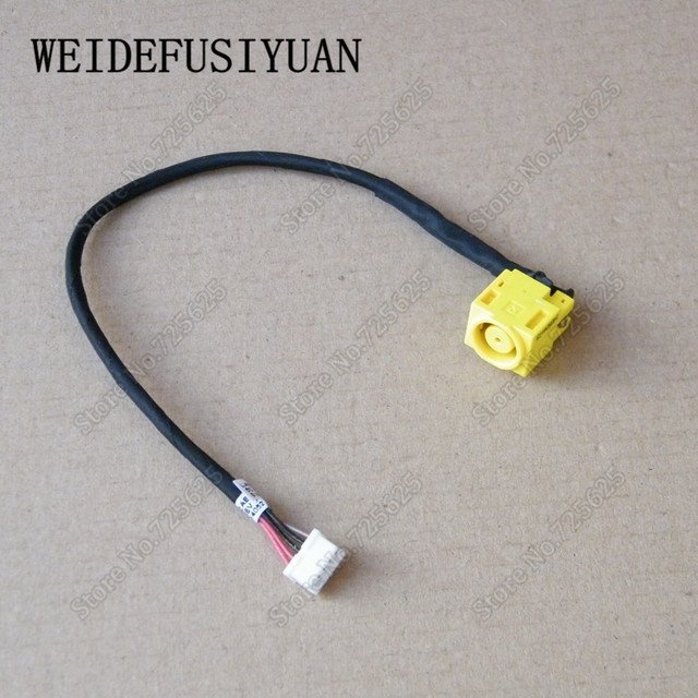 AC DC Power Jack Plug In Charging Port Connector Socket Wire Cable Harness for Lenovo B480 B485 B490 M490 M490S M495 V480 V480C