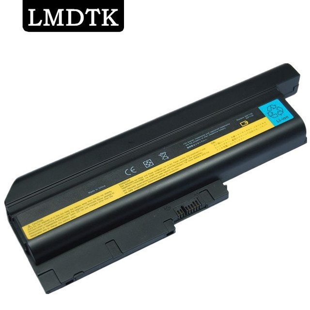 LMDTK NEW 9CELLS LAPTOP BATTERY  FRU 42T4502  42T4504  42T4511  42T4513  42T4619  42T4651 42T5233 92P1127 FIT FOR LENOVO T61