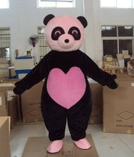 2017 New Pink Panda Bear Cartoon Character Costume Cosplay Mascot Custom Products Custom-made(s.m.l.xl.xxl) Free Shipping