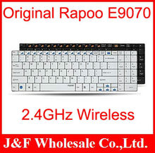 Free Shipping 100% original Rapoo 2.4GHz  Wireless Ultra-slim Keyboard E9070