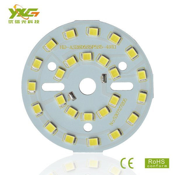 LED PCB Making factory 10pcs/lot 2835 SMD 5C5B 15V 5W PCB LED Board for Bulb Lamps and downlights wholesale Free shipping