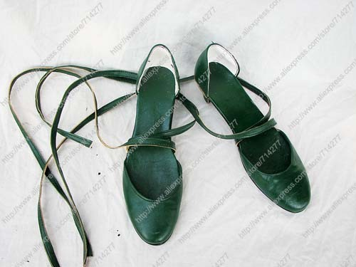 Free shipping Custom Cheap Sailor Neptune Shoes from Sailor Moon Cosplay Christmas