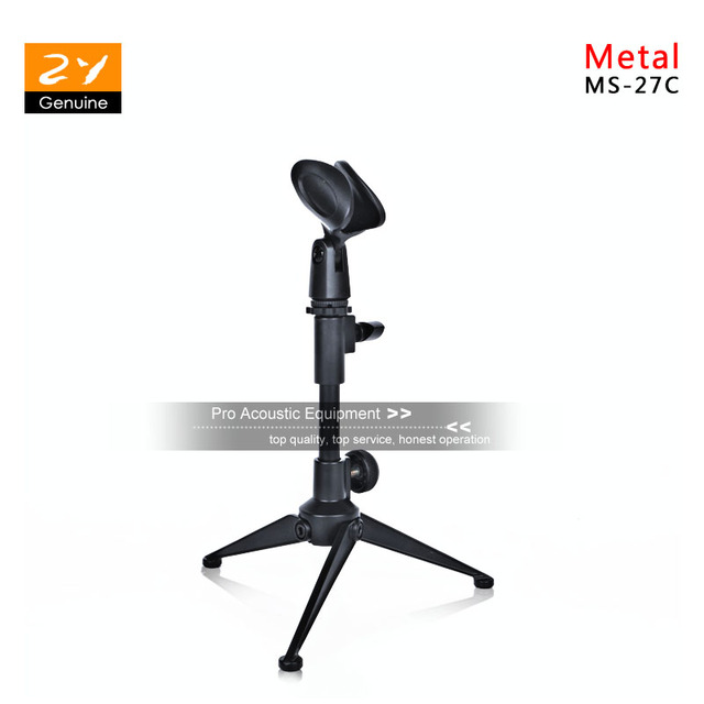 Adjustable Metal Desktop Tabletop Desk Table Top Microphone Stand Mic Holder For SHURE Beta 58A Beta58A For SENNHEISER E 935 945