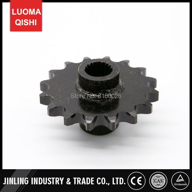 16T Sprocket Fit for GY6 CVT 150CC 200CC Engine 530# Chain Drive China ATV UTV Quad Bike Scooter Motorcycle Parts