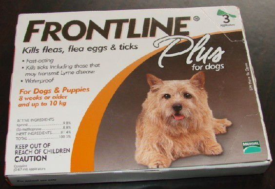 NEW Frontline Plus 0.67ml 0-10kg  Dog Flea Tick Remedi  1 pack By CPAM free shipping