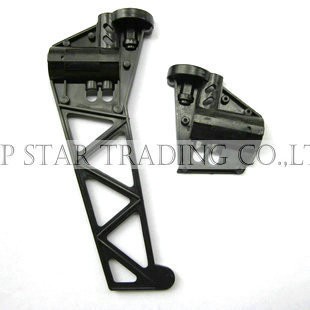 QS 8006-007 tail tent tail plastic fin for biggest rc helicopter QS8006 spare parts in stock