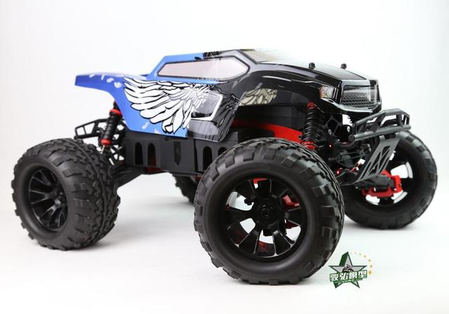 Tyrant 1/8 brushless electric remote control monster truck