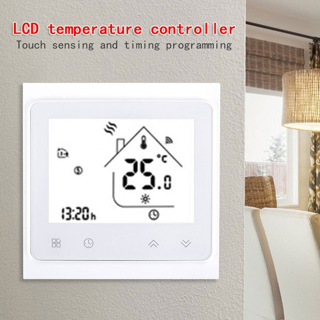 Cewaal NO WiFi Digital Water Floor Heating Temperature Controller WiFi Function Digital Touch Screen NEW Supplies Thermostat