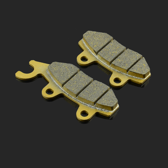 Motorcycle Front Or Rear Brake Pads Fit For PEUGEOT WTR125 PGO CMAX 125 250 QUADZILIA WK300 SFM ZX125 ZZ125 SINNIS STEALTH125