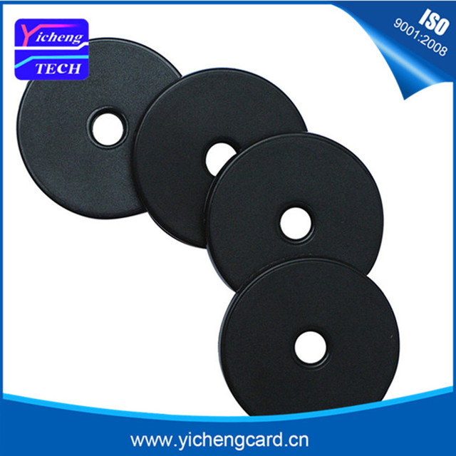 Free shipping 5pcs /lot Waterproof 125KHz RFID Tag EM4100 for Access Control Contactless ID Card ABS Coin Disk Token