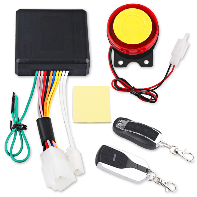 Urbanroad Remote Control Motorcycle Anti-Theft Security Alarm System Protection Motorbike Scooter Horn Lock Alarm Remote