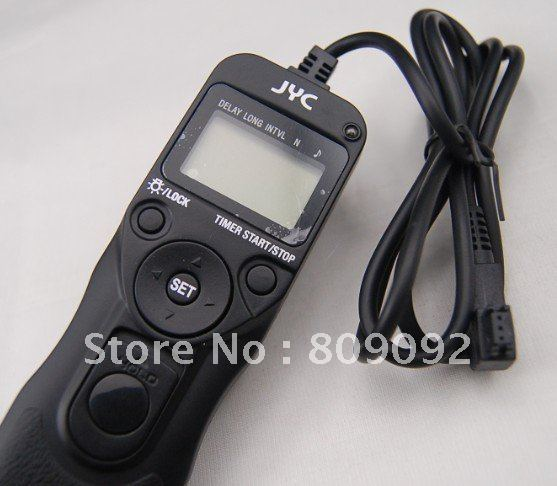 JYC MC-S1 Digit Timer Remote Control for SONY A900 A450